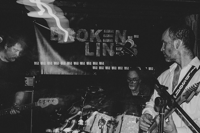 Broken Lines Band  - playing live at The Golden Lion, January 2019 | brokenlinesuk | broken--lines